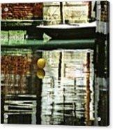 Ball On A Canal In Venice Acrylic Print