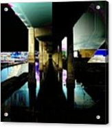 Ballard Bridge Acrylic Print