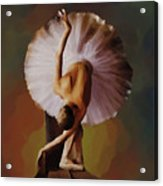 Ballerina Art 0421 Acrylic Print