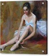 Ballerina D Acrylic Print