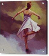 Ballerina Dance 0391 Acrylic Print