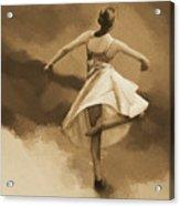 Ballerina Dance 0530 Acrylic Print