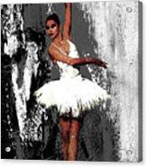 Ballerina Dance 073 Acrylic Print