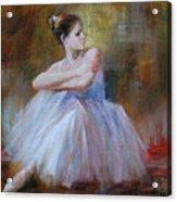 Ballerina E Acrylic Print