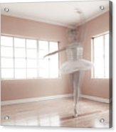 Ballerina Ghost Acrylic Print