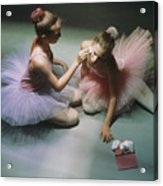 Ballerinas Get Ready For A Performance Acrylic Print