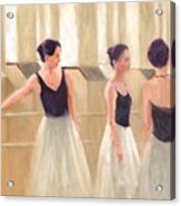 Ballerinas Waiting Acrylic Print