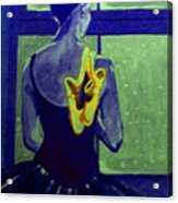 Ballerine En Hiver Acrylic Print