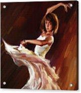 Ballet Dance 0706  Acrylic Print