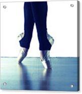 Ballet Feet 1 Acrylic Print