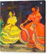 Ballet Folklorico Acrylic Print