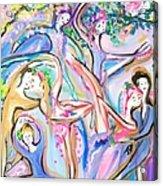 Ballet Garden Party  Acrylic Print