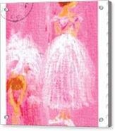 Ballet Sisters 2007 Acrylic Print
