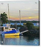 Ballina Boats Acrylic Print