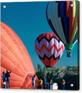 Ballon Launch Acrylic Print