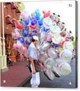 Balloon Boy Acrylic Print