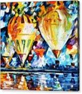 Balloon Festival New Acrylic Print