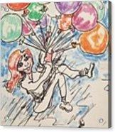 Balloon Flight  Acrylic Print