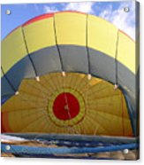 Balloon Inflation Acrylic Print