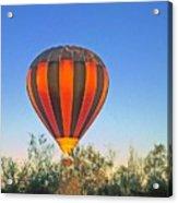 Balloon Launch Acrylic Print