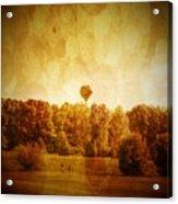 Balloon Nostalgia Acrylic Print by Michael Garyet