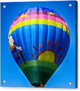 Balloon Over Wine Country Acrylic Print
