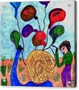 Balloon Sales Acrylic Print