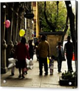 Balloons In Mexico City Acrylic Print