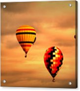 Balloons In The Morning Acrylic Print