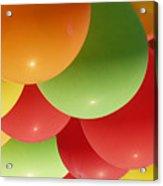 Balloons Up Acrylic Print
