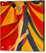 Ballroom Dancing Tango Acrylic Print
