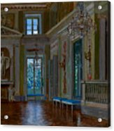 Ballroom Of The Lazienki Palace Acrylic Print