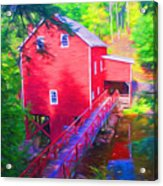 Balmoral Grist Mill Museum Acrylic Print