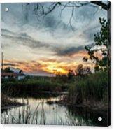 Balmorhea Sunset Acrylic Print