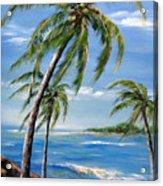 Balmy Breeze Acrylic Print