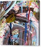 Balmy Nights Abstract Acrylic Print