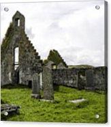 Balnakeil Church Acrylic Print