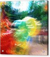 Baloons N Lights Acrylic Print