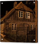 Baltic Houses Acrylic Print