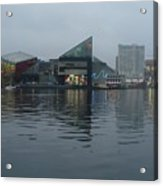 Baltimore Harbor Reflection Acrylic Print