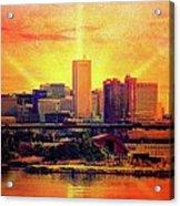 Baltimore Horizon Acrylic Print