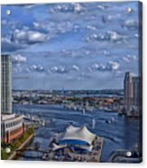 Baltimore Maryland Inner Harbor Acrylic Print