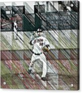 Baltimore Orioles Pitcher - Chris Tillman - Spring Training Acrylic Print