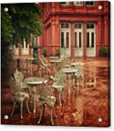 Baltimore Rain Acrylic Print