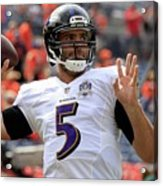 Baltimore Ravens Acrylic Print