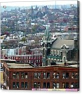 Baltimore Rooftops Acrylic Print