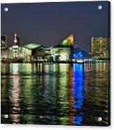 Baltimore Skyline Acrylic Print