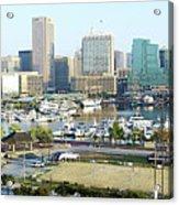 Baltimore's Inner Harbor Acrylic Print