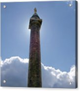 Baltimore's Washington Monument Acrylic Print
