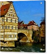 Bamberg Townhall - Germany H A Acrylic Print